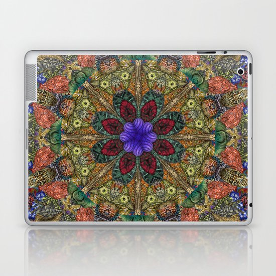 Hallucination Mandala 1 Laptop & iPad Skin