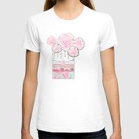 shabby chic T-shirts featuring A Pocket Full of Shabby Chic by KarenHarveyCox