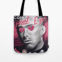 coin, 'heart eyes' the movie Tote Bag