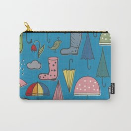 umbrellas and boots Carry-All Pouch