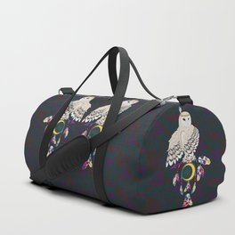 Owl with dreamcatcher Duffle Bag