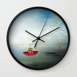 Danbo on tour I. Wall Clock