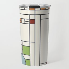 Frank lloyd wright pattern S02 Travel Mug