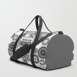Trust Me Engineer Funny Quote Duffle Bag
