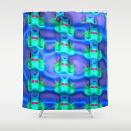 Jolly mouses pattern Shower Curtain