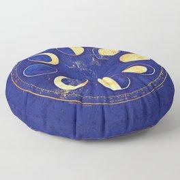Celestial Atlas :: Lunar Phases Floor Pillow