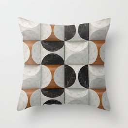 Marble game Throw Pillow