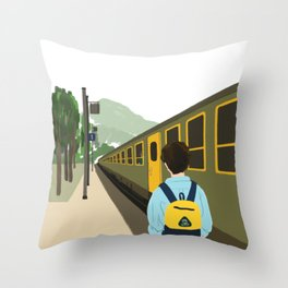 Call me by your name - Parting Throw Pillow