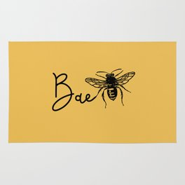 BAE Bee Baby Pun Love Rug