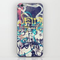 fallout iPhone & iPod Skins featuring Fallout Shelter Graff. by Sobriquet Studio