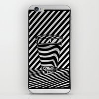 tequila iPhone & iPod Skins featuring Trippin' Tequila by Ana Lillith Bar