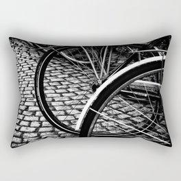 Squares And Circles Rectangular Pillow