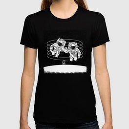 Astronaut black and white Gemini T-shirt