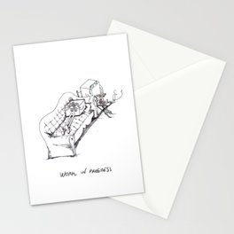 Work in Progress Little Cube Stationery Cards