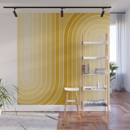Gradient Curvature VII Wall Mural
