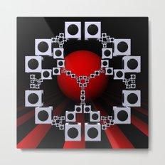 experiments on geometry -12- Metal Print