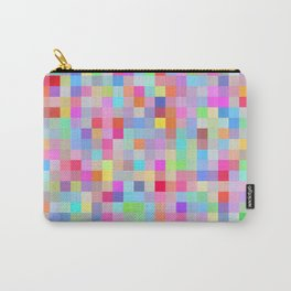 Pixel Rainbow Carry-All Pouch