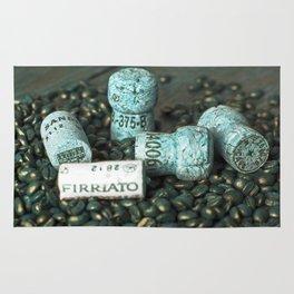 COFFEE & CORK Rug