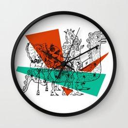 Adjacent Fourmula Wall Clock