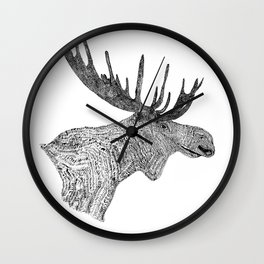 Maud the Moose Wall Clock
