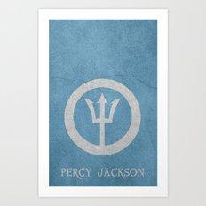 Percy Jackson Art Print