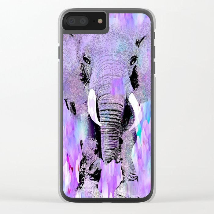 ELEPHANT Clear iPhone Case