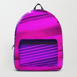 Neon Vapor Rave Lights Backpack
