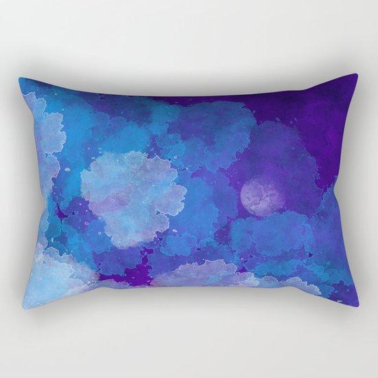 Emergent Moon Rectangular Pillow
