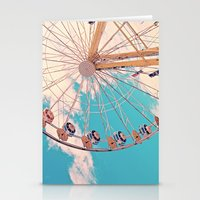 ferris wheel Stationery Cards featuring Ferris Wheel by Katie_Photography