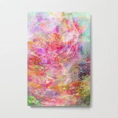 Serenity Abstract Painting  Metal Print