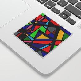 Geo Color Spectrum Sticker