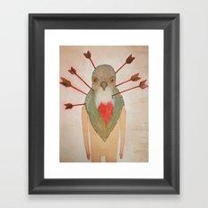 Bleeding Heart (Oh such a nice boy) Framed Art Print