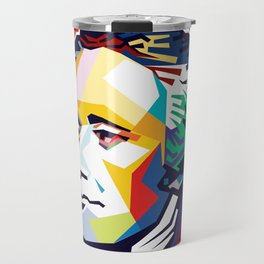 Alexander Hamilton Pop Art Travel Mug