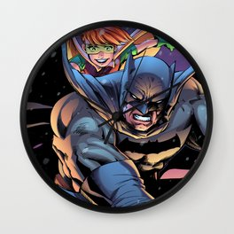 The Dark returns Knight Wall Clock