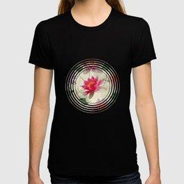 Lotus Flower Pattern T-shirt