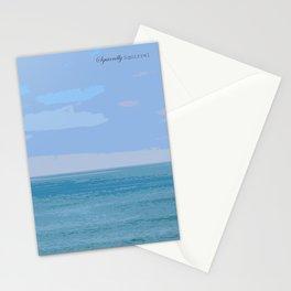 Blue Blue Blue Stationery Cards