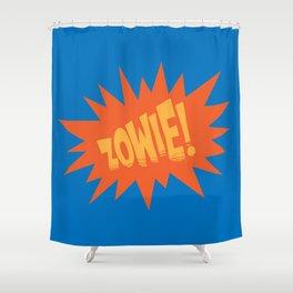 ZOWIE! Shower Curtain