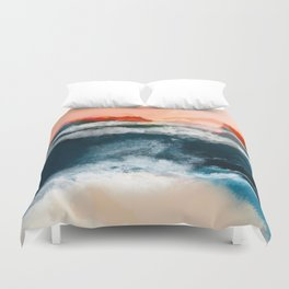 water world Duvet Cover