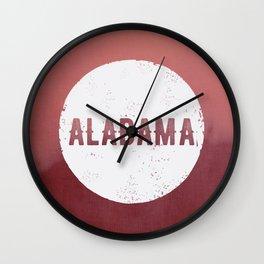 Alabama Roll Tide Wall Clock