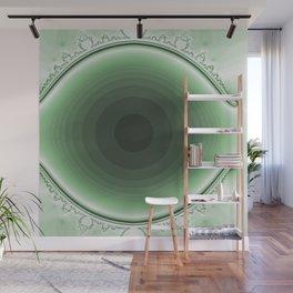 green and magic Wall Mural