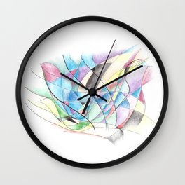 Don't be Afraid to Make a Mistake Wall Clock
