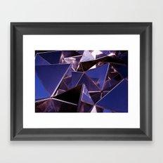 Abstract Glass Pattern 2 Framed Art Print