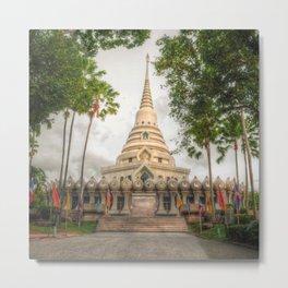 Stupa #1 Metal Print