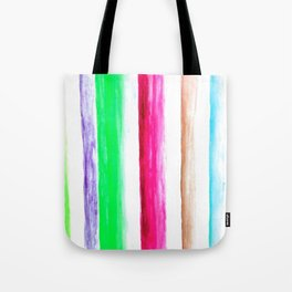 Color rows Tote Bag