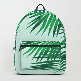 Composition tropical leaves IV Backpack
