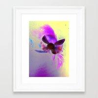 navy Framed Art Prints featuring Navy by Stephano Herrera