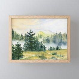 Mountain Vista Framed Mini Art Print