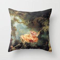 The Lizard Swing Throw Pillow