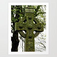Celtic Cross at Monasterboice Art Print