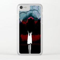 Heaven Is Perfect For Hell Clear iPhone Case